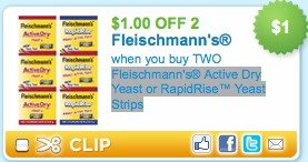 fleishnmanns yeast printable coupons