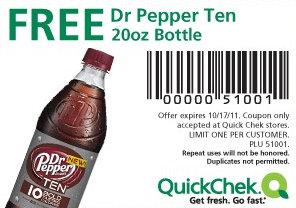 free drpepper 10