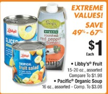 libbys fruit big lots