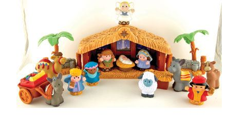 Little People Nativity Set: $23.99 Shipped + 2% Cash Back