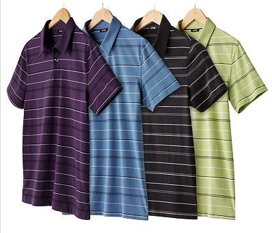 Men 39 S Striped Polo Shirts Less Then 9 20 Off Coupon
