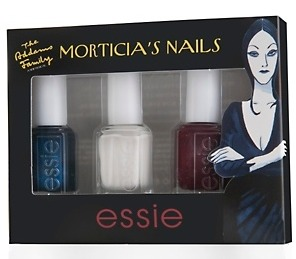 Essie Morticia's Nails Limited Edition Nail Polish (Set of 3) for $9.95 Shipped