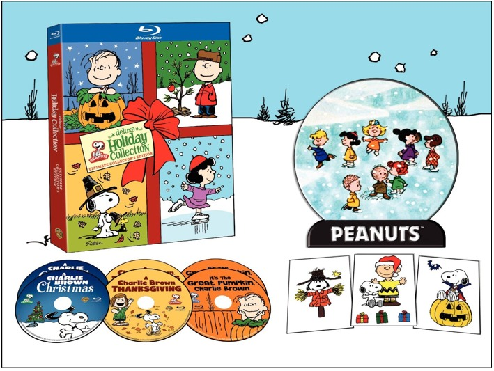 peanuts dvd set