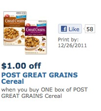 post grains printable coupons