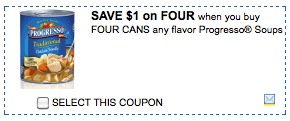 progresso soups printable coupons