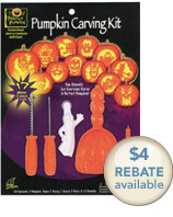 pumpkin carving kit rebate