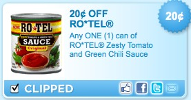 rotel tomatoes printable coupons