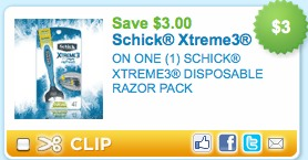 schick printable coupons
