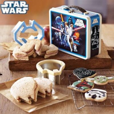 Star Wars Sandwich Cutters & Tin $9.99 Shipped