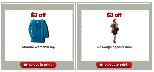 target apparel printable coupons