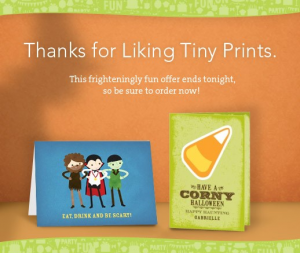 tiny prints free halloween cards