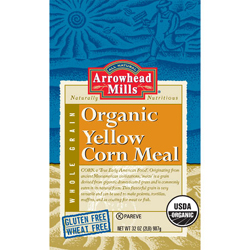 AM Cornmeal Free Arrowhead Organic Flour at Whole Foods