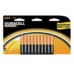Amazon Prime: 20-Ct Duracell Batteries for only $2.72 after Credit!
