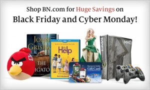 bn bf 300x180 Barnes & Noble Coupon Code for 50% off Toys, Cookbooks, Best Sellers and More