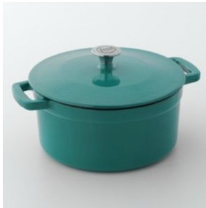 cast iron pot 297x300 Food Network 5.5 QT Enamel Cast Iron Dutch Oven for $12.99