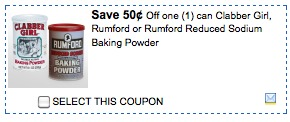clabber girl printable coupons Clabber Girl or Rumford Baking Powder Printable Coupons | Free at Walgreens