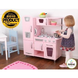 kidkraft pink kitchen