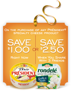 president cheese printable coupons