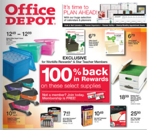 Office Depot Deals 01/01-01/07