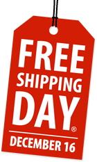 FREE Shipping Day 2011 Tomorrow! (12/16/11)