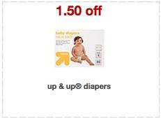 target diaper coupon