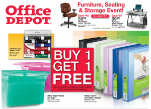 Office Depot Deals for 01/08-01/14