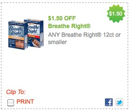 breathe right printable coupons