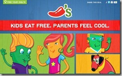 Chili's: Kids Eat Free!