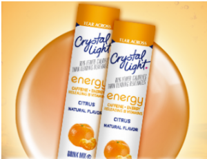 crystal light free sample