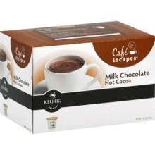 FREE Box of Cafe Escapes Milk Chocolate Hot Cocoa K-Cups (Hurry!)