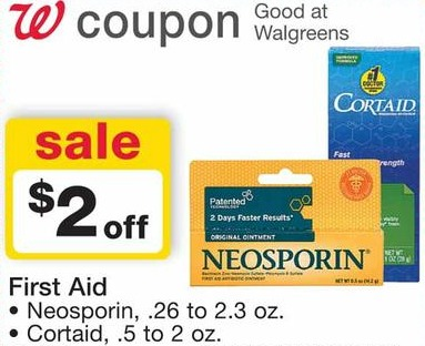 free cortaid Walgreens