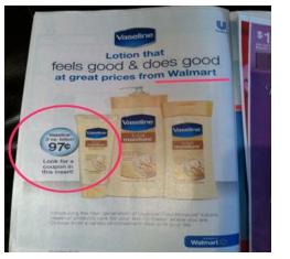 free vaseline Walmart