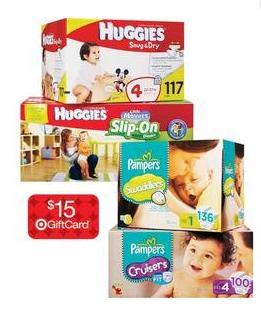 huggies target diaper deal