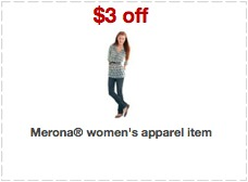 merona apparel printable coupons