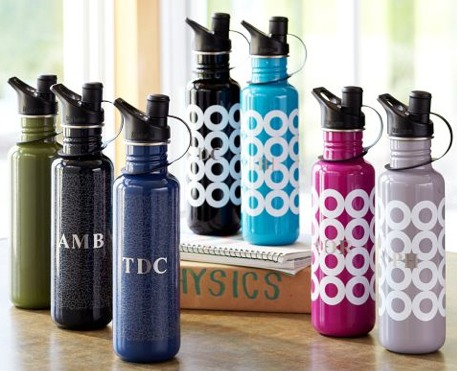 pb teen water bottle