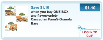 cascadian farms granola bars printable coupons