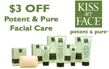 kiss my face printable coupons