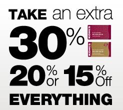 kohls discount code