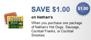 photo regarding Nathans Printable Coupons named $1/1 Nathans Incredibly hot Canine Printable Discount codes Popular Truly feel With