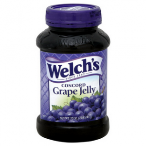 NEW $0.55/1 Welch's Grape Jam or Jelly Coupon