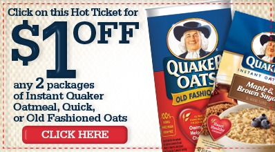 quaker oatmeal printable coupons