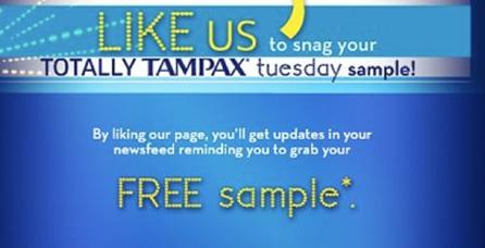 tampax sample