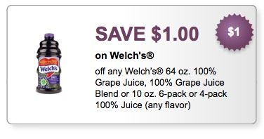 welch's juice printable coupons