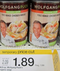 wolfgang puck soup target Target: Wolfgang Puck Soup $0.89 per Can after Printable Coupons