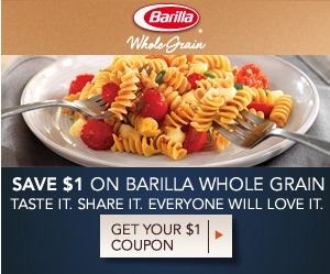barilla whole grain printable coupons