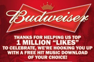 budweiser free music download 300x198 Free Music Download from Budweiser