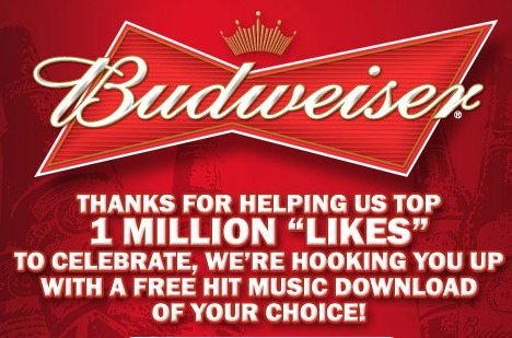 budweiser free music download