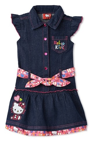 hello kitty denim