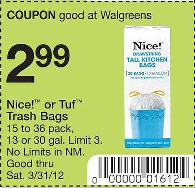 nice trash bags