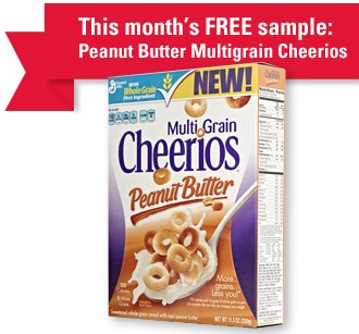 pb cheerios sample
